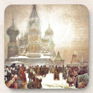 Abolition of Serfdom in Russia 1914 Beverage Coasters