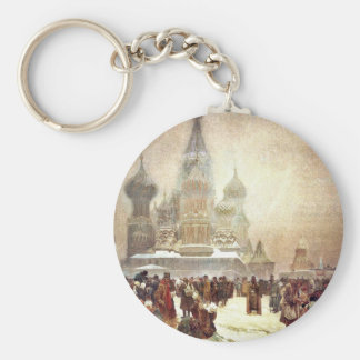 Abolition of Serfdom in Russia 1914 Keychain