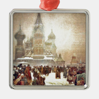 Abolition of Serfdom in Russia 1914 Metal Ornament