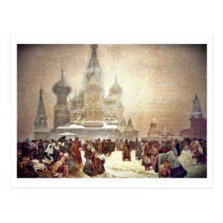 Abolition of Serfdom in Russia 1914 Postcard