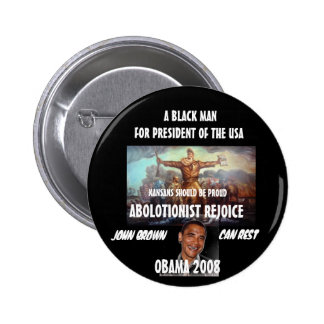 ABOLOTIONIST PINBACK BUTTON