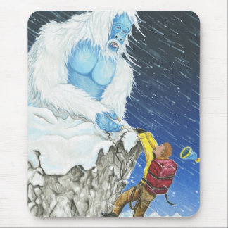 Abominable Snowman and the Hiker Mouse Pads