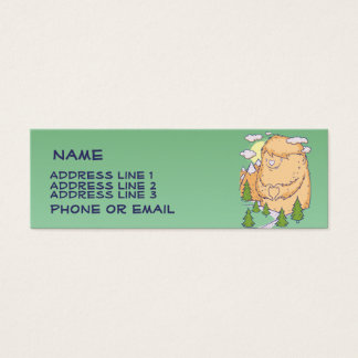 Abominable Snowman Business Card