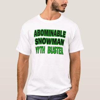 Abominable Snowman Myth Buster T-Shirt