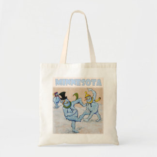 Abominable Snowmen of Minnesota Budget Tote Bag