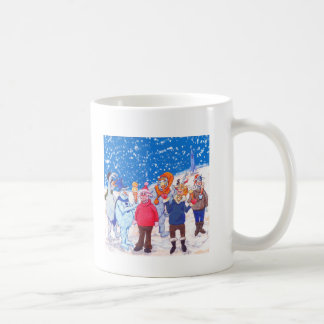 abominable Snowmen of Pluto and Space Cows Coffee Mug