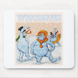 Abominable snowmen of Wisconsin Mouse Pad