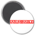 Abominable Stamp Magnet