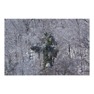 Abominable Tree Monster in the Snow Poster