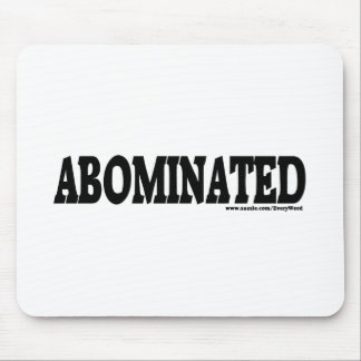ABOMINATED MOUSE PAD