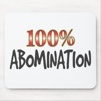 Abomination 100 Percent Mouse Mat