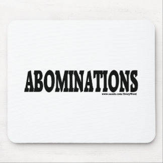 ABOMINATIONS MOUSE PAD