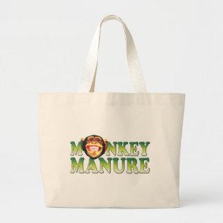 Abono del mono bolsas de mano