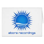Abora Recordings Note Card (Large Image)
