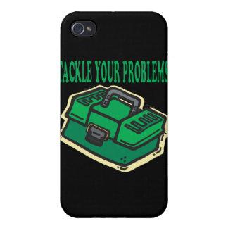 Aborde sus problemas iPhone 4 cárcasa