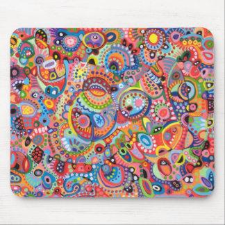 Aboriginal Art Inspired Mousepad