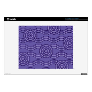 "Aboriginal art melaleuca 12"" laptop skins"