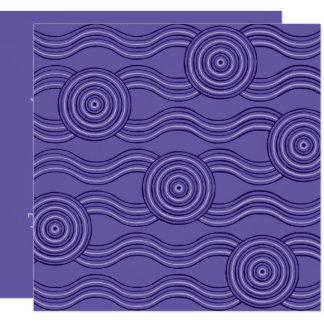 Aboriginal art melaleuca card
