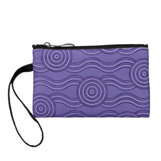 Aboriginal art melaleuca change purse