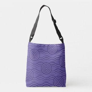 Aboriginal art melaleuca crossbody bag