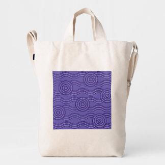 Aboriginal art melaleuca duck bag