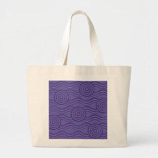 Aboriginal art melaleuca large tote bag