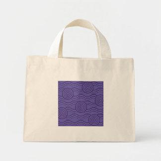 Aboriginal art melaleuca mini tote bag