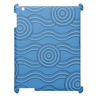 Aboriginal art ocean case for the iPad
