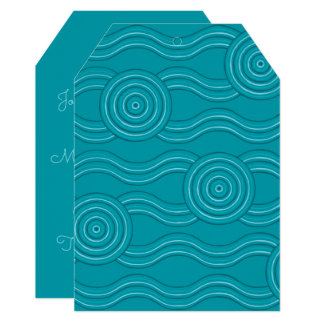 Aboriginal art reef card