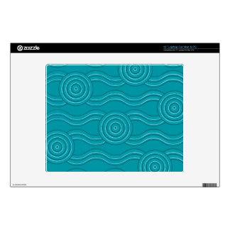 Aboriginal art reef decals for laptops