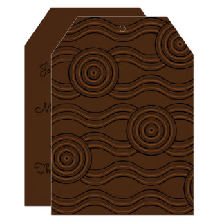 Aboriginal art soil card