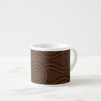 Aboriginal art soil espresso cup