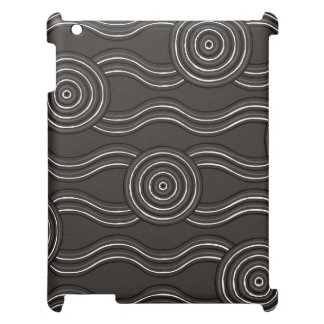 Aboriginal art storm cover for the iPad 2 3 4