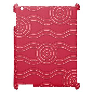 Aboriginal art waratah case for the iPad