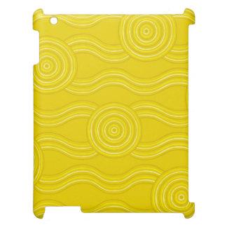 Aboriginal art wattle iPad covers