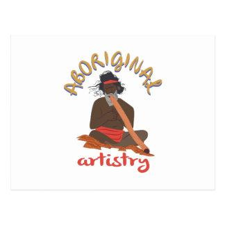 Aboriginal Artistry Postcard