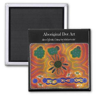 Aboriginal Artwork Refrigerator Magnets