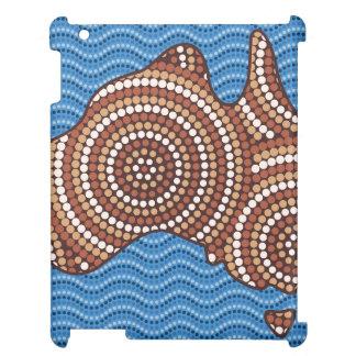 Aboriginal Australia dot painting iPad Cover