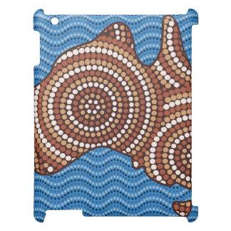 Aboriginal Australia dot painting iPad Covers