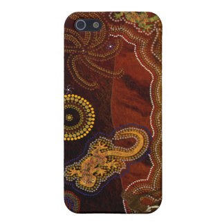 Aboriginal Australian Desert Art iPhone 4 Case