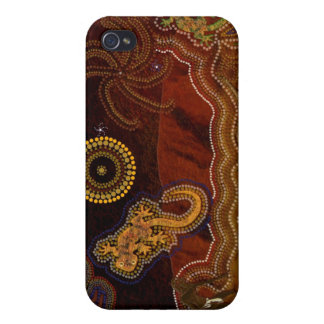 Aboriginal Australian Desert Art iPod Touch Cases