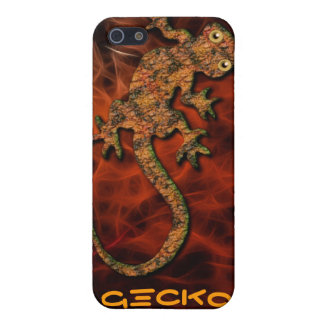 Aboriginal Australian Gecko iPhone 4 Case