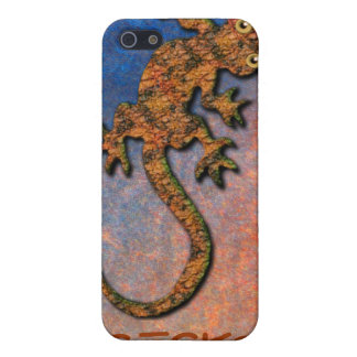 Aboriginal Australian Gecko iPod Touch Cases