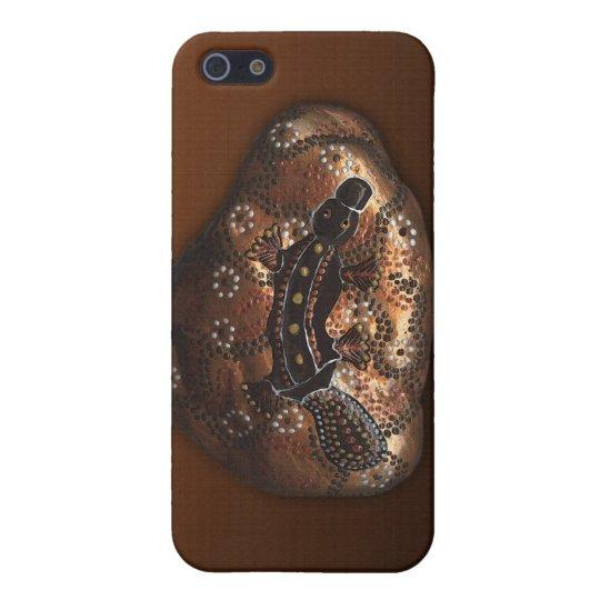 Aboriginal Australian Platypus iPhone Case