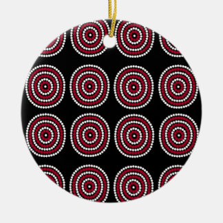 Aboriginal Ceramic Ornament