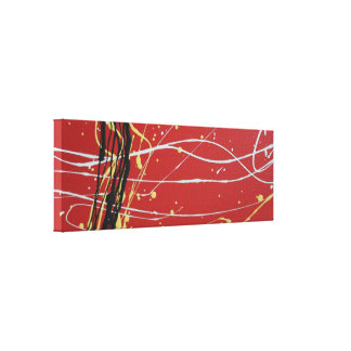 Aboriginal Colours Canvas Print