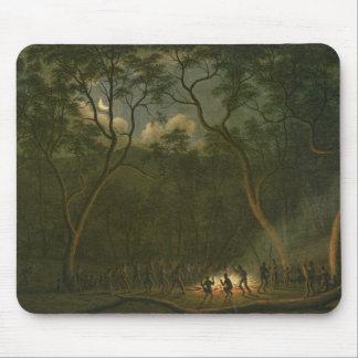 Aboriginal Coroboree in Van Diemen's Land Mouse Pad