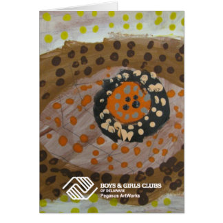 Aboriginal Design by Greater Newark Youth Card