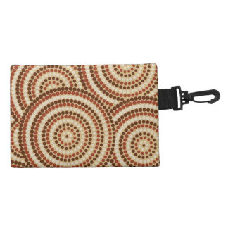 Aboriginal Dot Painting Accessories Bag