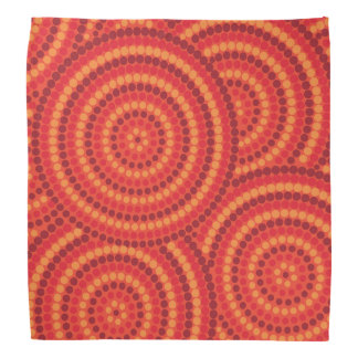 Aboriginal dot painting bandana